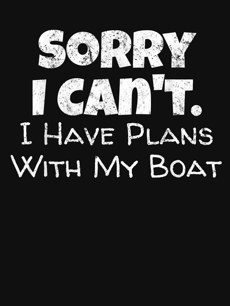 Funny Boating Boat Owner Gift by KayTilgner