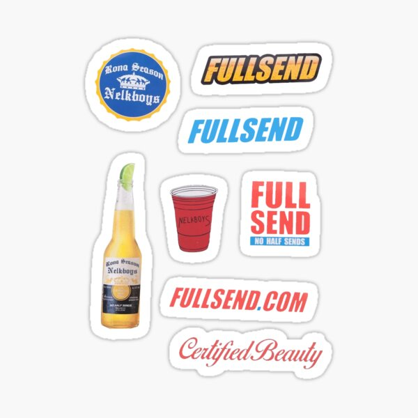 ULTIMATE STICKER PACK by FULL SEND Sticker