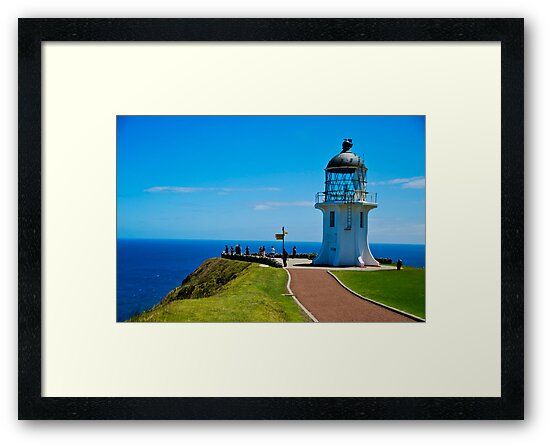 Cape Reinga Lighthouse by DAJPowell