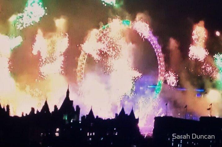 London Fireworks by Sarah Duncan