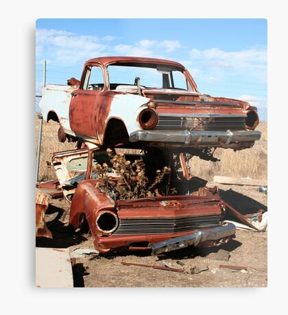 Old Holdens-Gone but not forgotten Metal Print