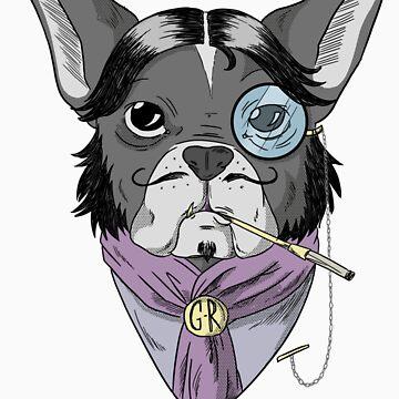 Aristocratic Dog by GakiRules