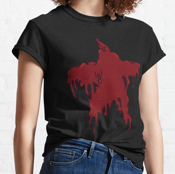 Red Melting Star Classic T-Shirt