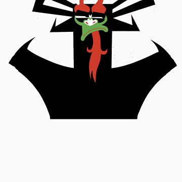 Aku's Disappointed Face by AwesomeCore