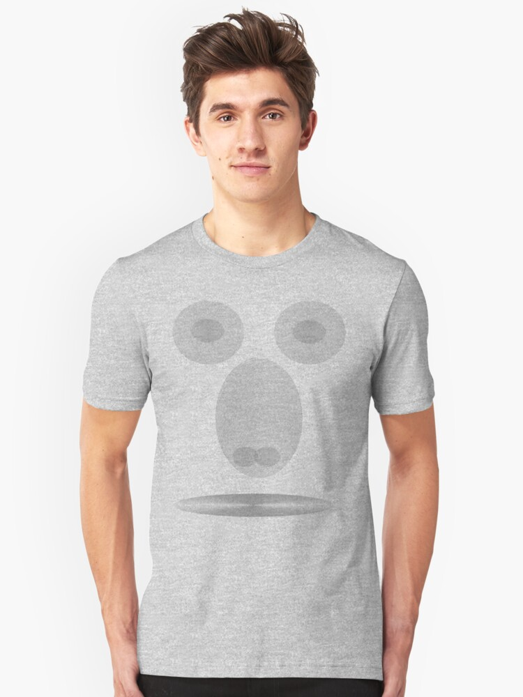 packy style Unisex T-Shirt Front