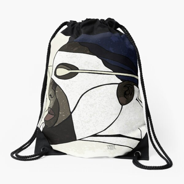Captain Photon Drawstring Bag