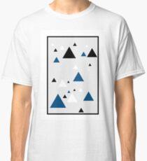 Triangle Blue - 1 Classic T-Shirt