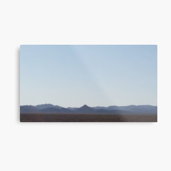Desert Haze Metal Print