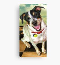 """""""Lola Jane on Tile"""" Canvas Print"""