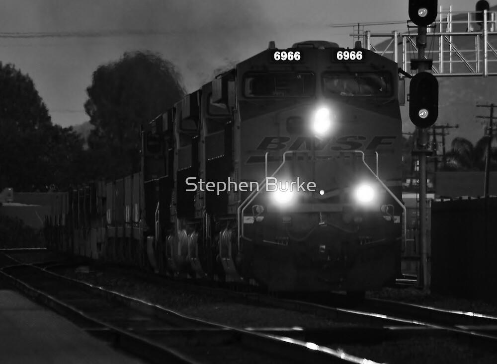 Night Train by Stephen Burke