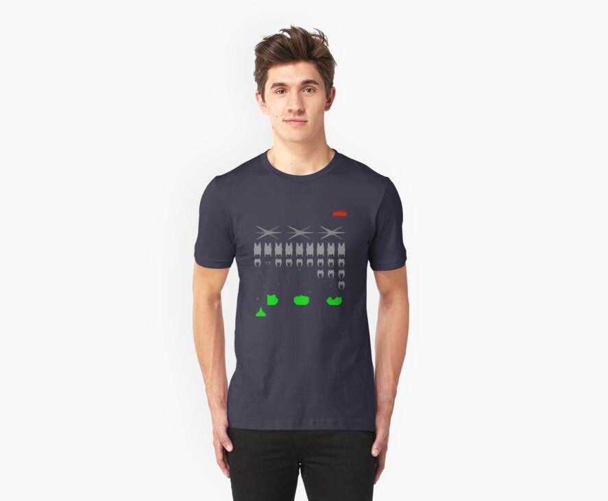 Battlestar Galactica Space Invader by Indigo1563