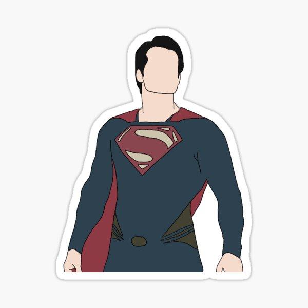 Super-héros Henry Cavill Sticker