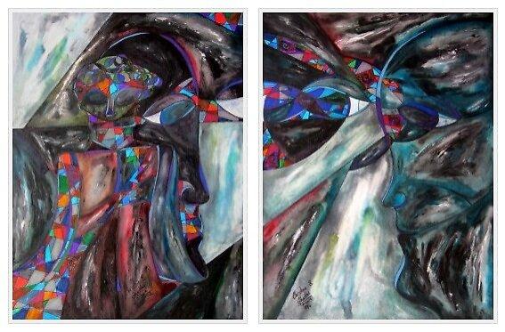 """""""Look Ahead... Look Back"""" (2012) by Christine Ghattas"""