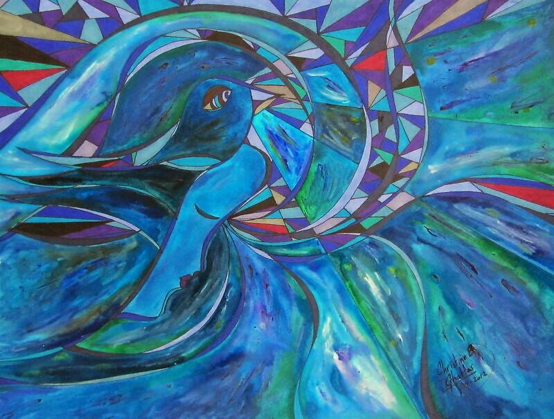"""I Dreamed of Flying"" (2012) by Christine Ghattas"
