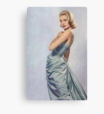 Grace Kelly- Queen of Grace Canvas Print