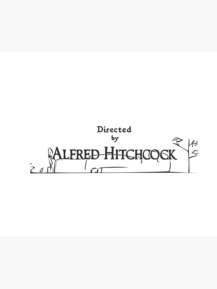 Alfred Hitchcock by skeletonsoul