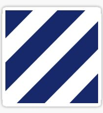 Logo of the 3rd Infantry Division, U. S. Army Sticker