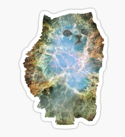 Nebula Kitty II Sticker