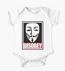 Disobey Vendetta One Piece - Short Sleeve