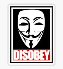 Disobey Vendetta Sticker