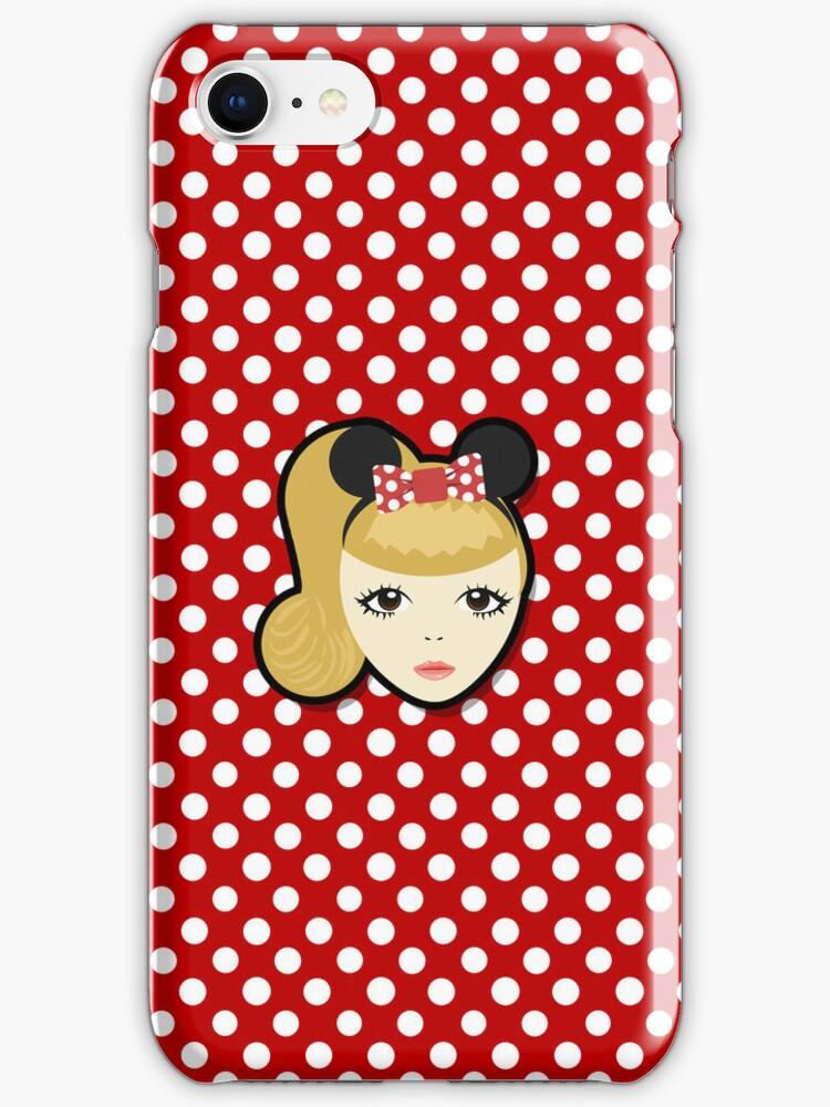 Little Miss Minnie (Phone Case) by pinkbook