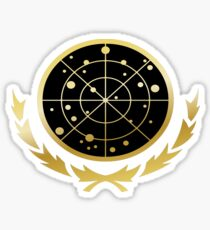United Federation of Planets Logo: Gold Version Sticker