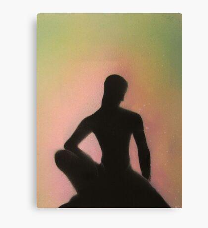 Crouching Buddha Canvas Print