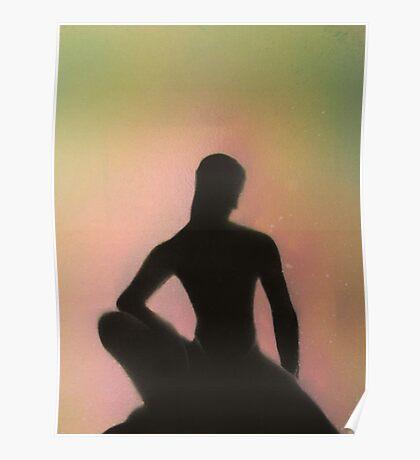 Crouching Buddha Poster