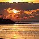 Sunset at Grand Barachois by Rose Landry