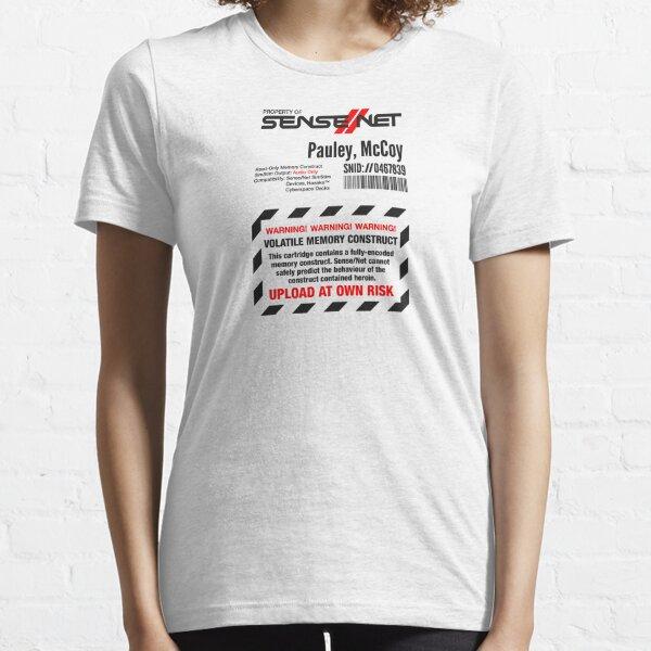 Dixie Flatline Warning Label - White Essential T-Shirt