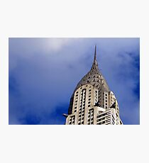 Top of the Chrysler  Photographic Print