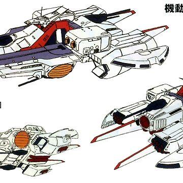 Argama-class Zeta Gundam by callmehiwatt