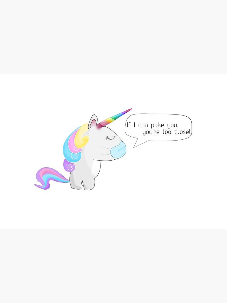 Social Distancing Unicorn by distancingqueen