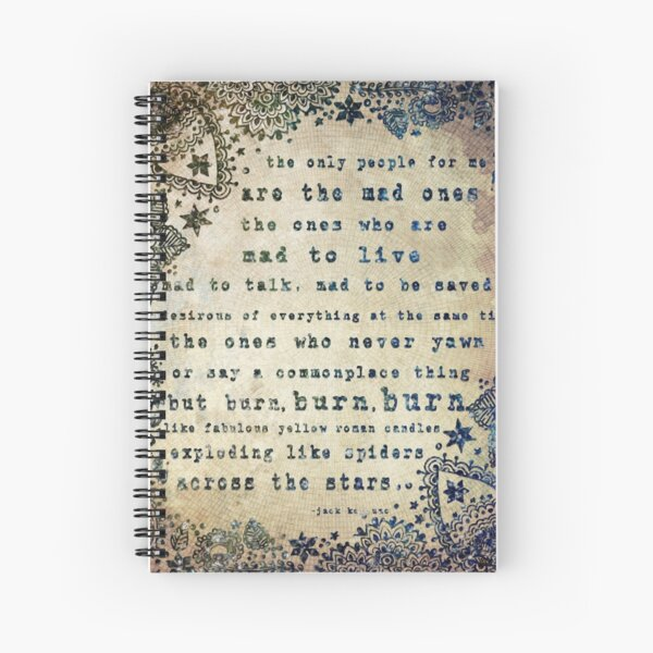 The Mad Ones Spiral Notebook