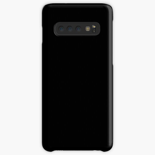 Black is the most beautiful color Samsung Galaxy Snap Case