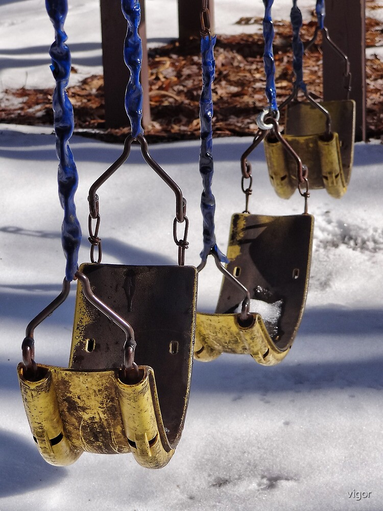 Three Empty Swings by vigor