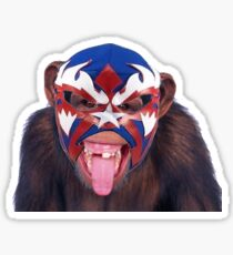 lucha monkey 2 Sticker