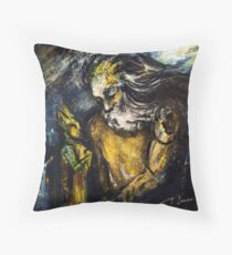 """Titan asks sun and moon the way to his beloved"" Throw Pillow"