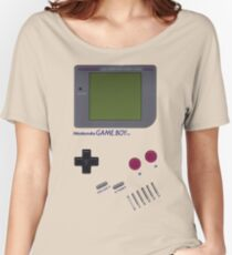 Nintendo GAME BOY Women's Relaxed Fit T-Shirt