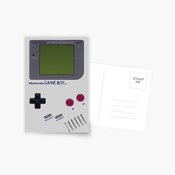 Nintendo GAME BOY Postcard