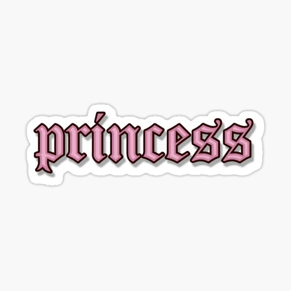 princess sticker Sticker