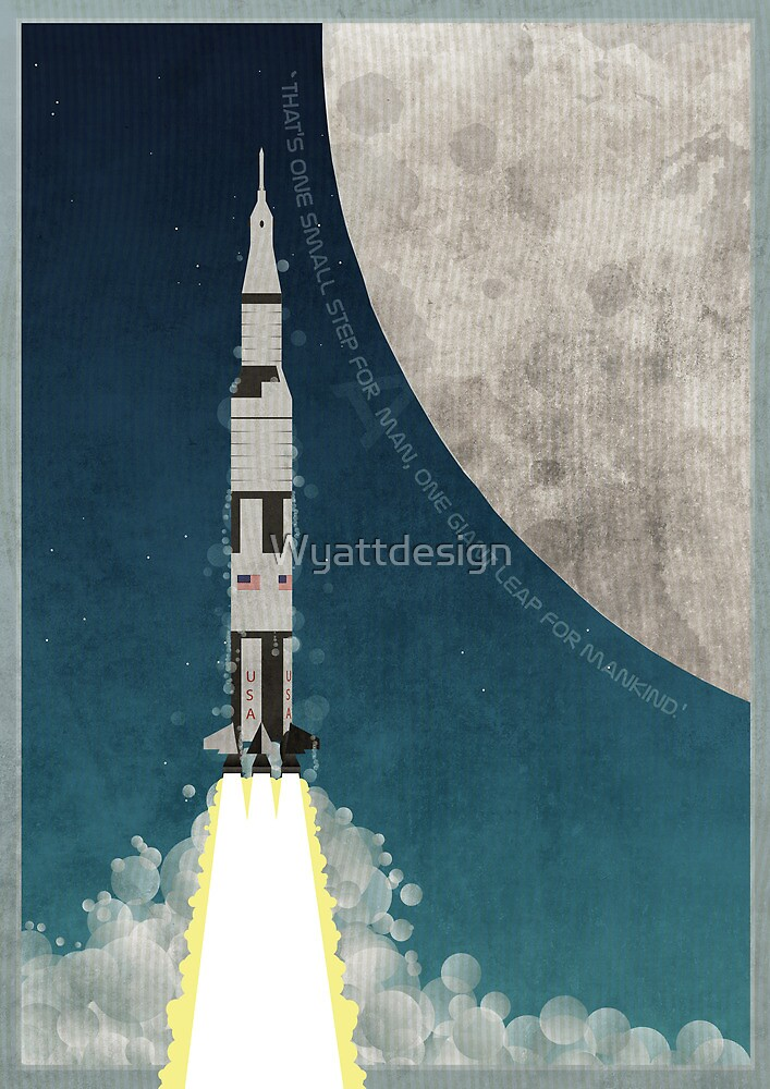 Apollo Rocket by Wyattdesign