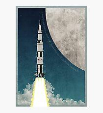 Apollo Rocket Photographic Print