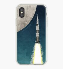 Vinilo o funda para iPhone Apollo Rocket
