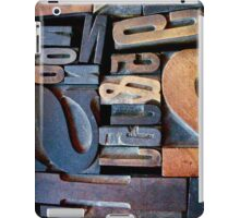 """Typesetting - The Number """"2"""" iPad Case/Skin"""