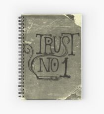 Trust No. 1 Spiral Notebook