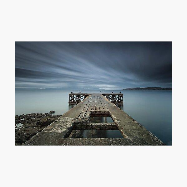 Portencross Photographic Print