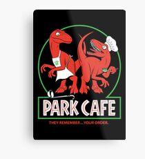 Raptors in the Kitchen Metal Print