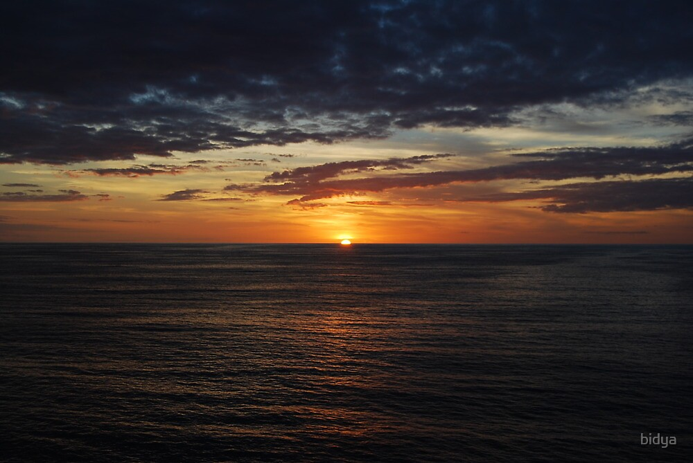 Sunset Peaceful by bidya
