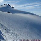 Smooth snow, Mt Daniels, Cascades, Washington by LichenRockArts